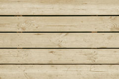 Old beige wooden pavement background texture Royalty Free Stock Photo