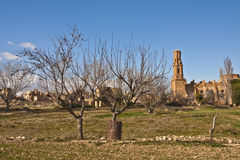 Old Belchite Stock Images
