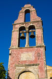 Old belfry on Corfu island, Greece Royalty Free Stock Photos