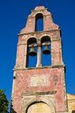 Old belfry on Corfu island, Greece Royalty Free Stock Photos