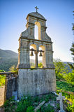 Old belfry on Corfu island, Greece Royalty Free Stock Photo