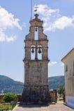 Old belfry on Corfu island, Greece Royalty Free Stock Image