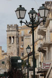 Old belfry in Kerkyra, Corfu Royalty Free Stock Photo