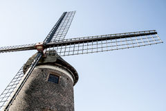 Old belgian windmill Stock Images