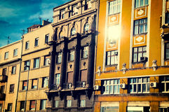Old Belgrade buildings Royalty Free Stock Photo