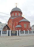 Old Belief cathedral of the Intercession of the Theotokos. Mosco Stock Photo