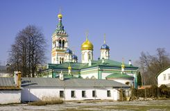 Old believer Rogozhsky community of Moscow Stock Photos