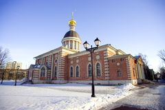 Old believer Rogozhsky community of Moscow Royalty Free Stock Images