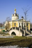 Old believer Rogozhsky community of Moscowthe Cathedral of the intercession of Bogoroditsy Royalty Free Stock Photos