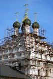 Old Believer Temple St. Nicholas on Posad. Kremlin in Kolomna, Russia. Old Believer Temple of St. Nicholas on Posad. Kremlin in Kolomna, Moscow region, Russia stock photos