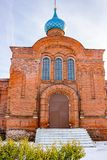 Old Believers` Church in the name of the introduction of the Blessed Virgin Mary in 1908 in Borovsk. Russia stock photo