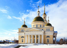 The Old Believers` church. In Nevyansk, Russia stock photography