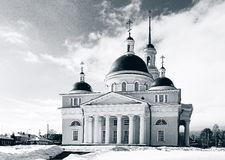 The Old Believers` church. In Nevyansk, Russia royalty free stock images
