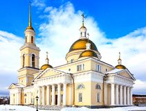 The Old Believers` church. In Nevyansk, Russia stock image