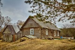 Old Believers House Stock Images