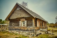 Old Believers House Royalty Free Stock Photography