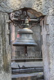 Old Bell In Kathmandu,(Nepal). Stock Photo