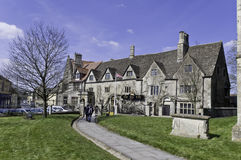 The Old Bell, Malmesbury. The historic Old Bell, Malmesbury, situated next to the abbey Royalty Free Stock Images