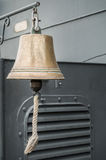 An old bell on navy ship Royalty Free Stock Photo