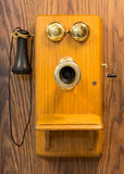 Old bell telephone Stock Photo