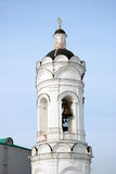 Old bell tower. Architecture of Kolomenskoye park in Moscow. Royalty Free Stock Images