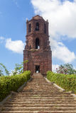 Old Bell Tower of Bantay, Ilocos Sur, Philippines Stock Images