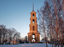 The old bell tower. City Venev, Tula Region, Russia Royalty Free Stock Photography
