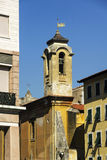 Old bell tower in Livorno Royalty Free Stock Image