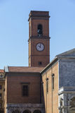 Old bell tower in Livorno Royalty Free Stock Photos