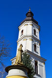 Old bell tower in Pinsk Stock Photo