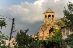 The old Bell Tower in Tbilisi Stock Images