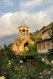 The old Bell Tower in Tbilisi Royalty Free Stock Photo