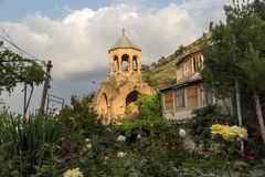 The old Bell Tower in Tbilisi Stock Image