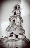 Old bell tower. Trinity Sergius Lavra, Sergiev Posad, Russia. UNESCO World Herit Royalty Free Stock Photo