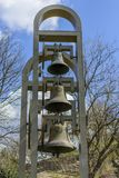 Old bell in tsarevets stronghold. Veliko Tarnovo, Bulgaria Stock Photography