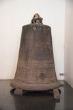 The old bell in Wat Phra Si Rattana Mahathat temple ,Phitsanulok Royalty Free Stock Image