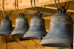 Old bells close up Stock Photography