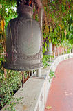 Old bells on the Golden mountain temple in Bangkok Royalty Free Stock Photo