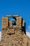Old belltower from San Geronimo Chapel in Taos Pueblo Stock Images