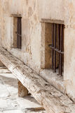 Old bench in Pedraza Royalty Free Stock Photo