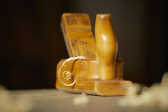 Old bench plane Royalty Free Stock Images