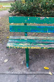 Old bench Stock Photo