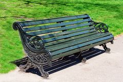 Old bench Stock Images