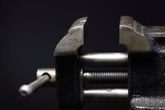 Bench Vice Closeup Stock Image