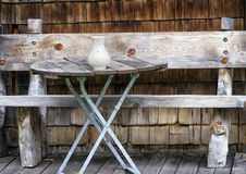 Old bench Stock Photography