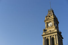 Old Bendigo Post Office clock tower Royalty Free Stock Images