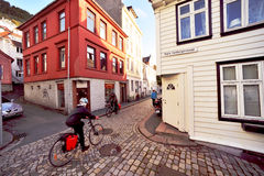 Old Bergen Stock Photography