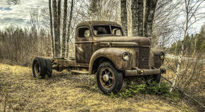 Old Betsy. Beautiful old truck just rusting away Royalty Free Stock Images