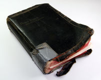 Old Bible. Old, torn up Bible Stock Image