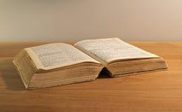 Old bible book Royalty Free Stock Photos